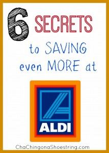 The main reason I can still maintain my grocery budget without being an extreme couponer? ALDI.