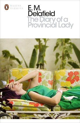 The Diary of a Provincial Lady (Penguin Modern Classics) by E.M. Delafield http://www.amazon.co.uk/dp/0141191813/ref=cm_sw_r_pi_dp_fJbQvb0E3JG5H