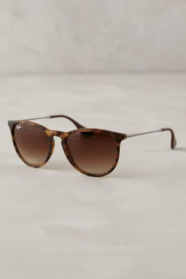 Ray-Ban Erika Sunglasses Brown Motif All Eyewear