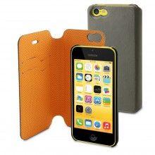 Forro iPhone 5C Muvit Magic Folio Gris Naranja  $ 58.100,00