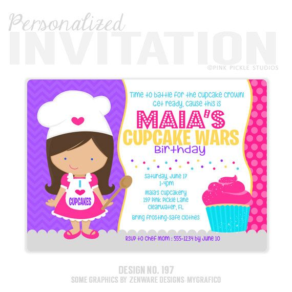 Best 25 Cupcake Invitations Ideas On Pinterest Cupcake Party