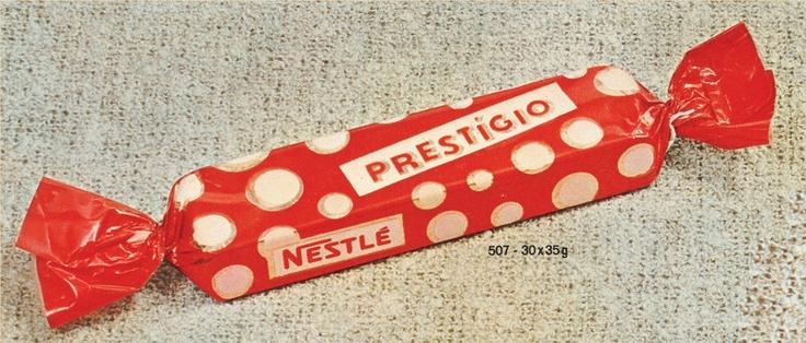 1961 Lançamento do Prestígio- Nestlé