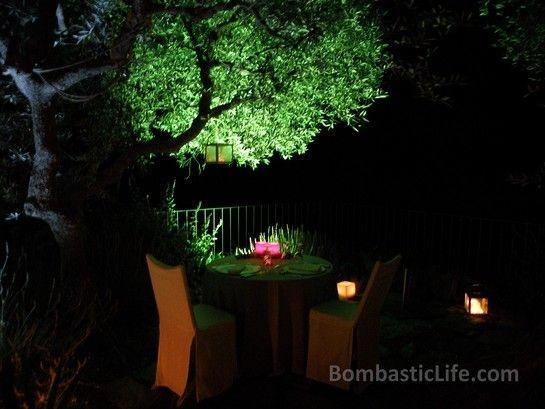 Romantic dinner at Quinta da Romaneira - Douro Valley, Portugal.
