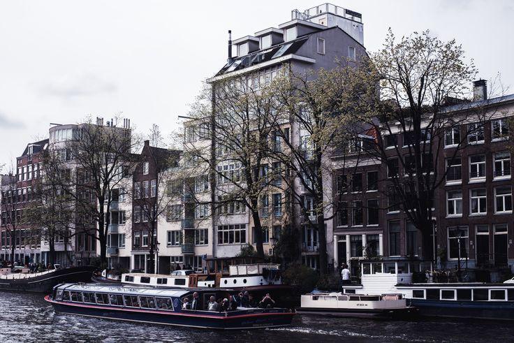 Amsterdam #3 | House (Boats) | Moonlight Bohemian