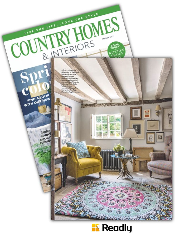 Suggestion about Country Homes & Interiors Magazine March 2017 page 30