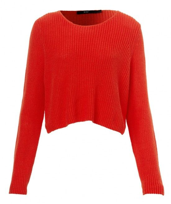 CROP SWEATER - Clothing