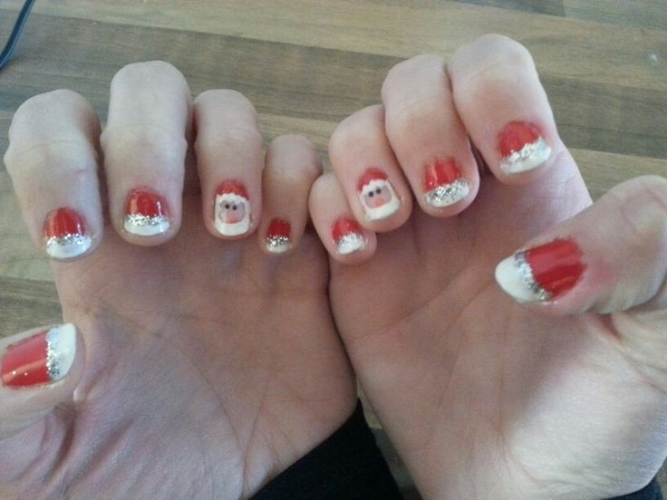 My nails by Ilse (best friend)