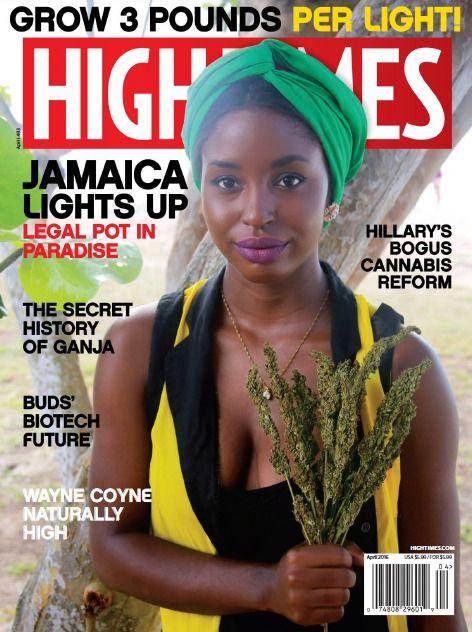 High Times PDF MaGaZiNe April 2016 medical marijuana cannabis PDF