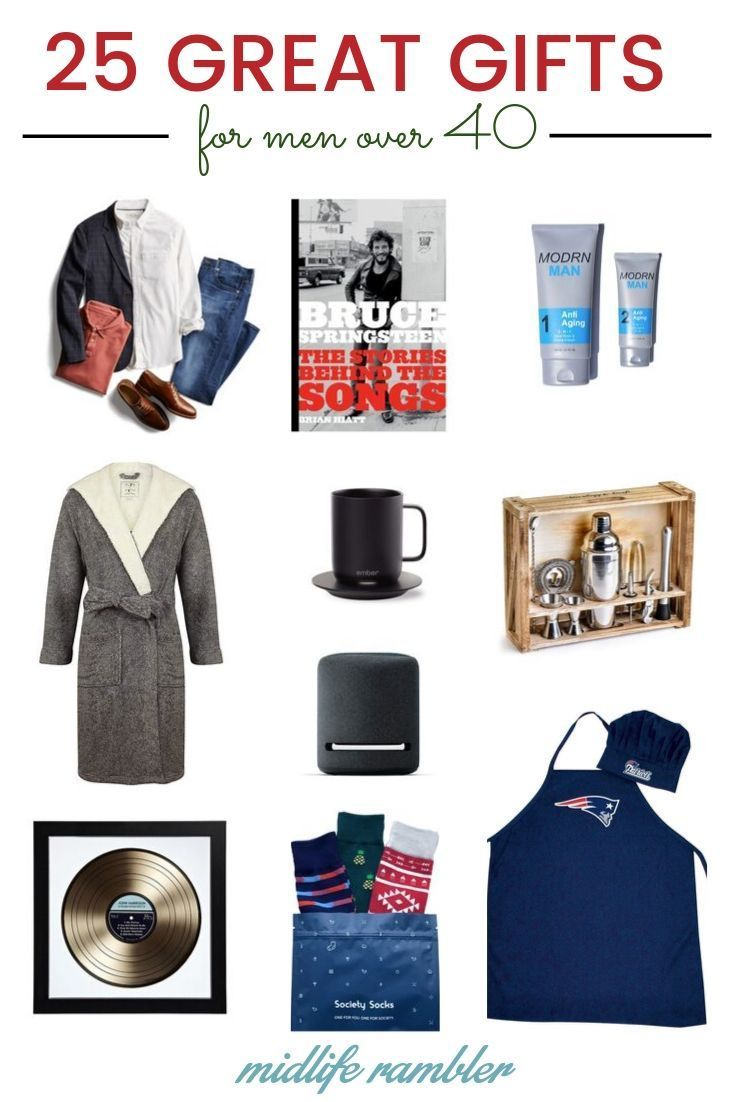 Mens Christmas 2020 Gift Guide 2020: The Best Gifts for Men Over 40 | Christmas gifts