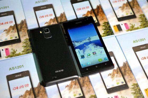 Corea del Norte presenta su smartphone 'Arirang' - Cachicha.com