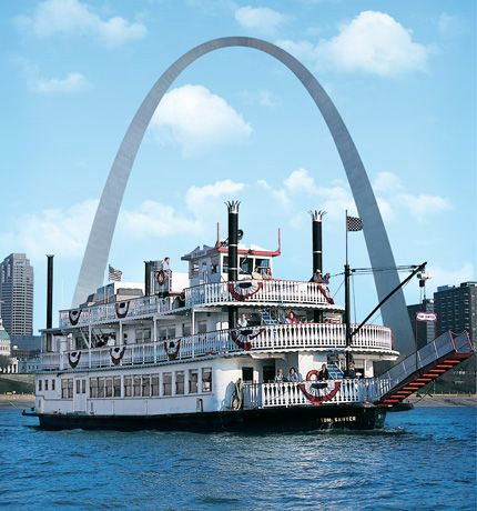Riverboat Cruise; Downtown, St. Louis. 2012 Live Blues Cruise Schedule: June 14th, June 28th, July 19th, August 16th, August 30th, September 20th, and October 11th. Boards at 8 p.m., departs at 8:30 p.m., and returns at 11 p.m.  Admission is $18.00 and it is a cash bar. Reservations required.