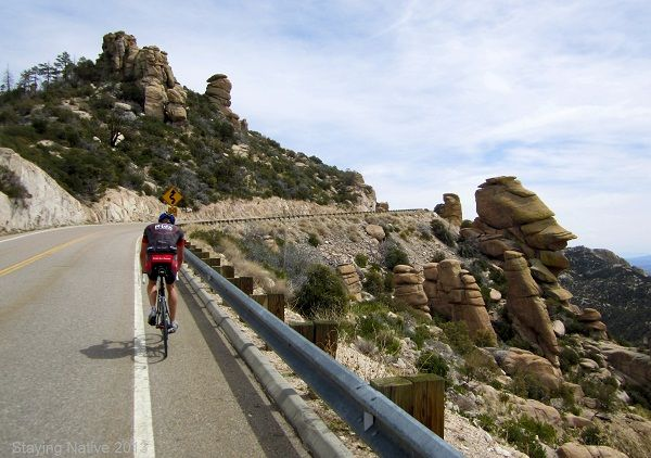 Awesome rock formations ascending Mt Lemmon in Tucson #DoItLikeaLocal