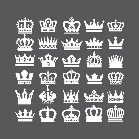 Crown Svg Crown Clipart Queen Crown King Crown Princess Etsy Crown Clip Art Crown Tattoo Design Crown Tattoo
