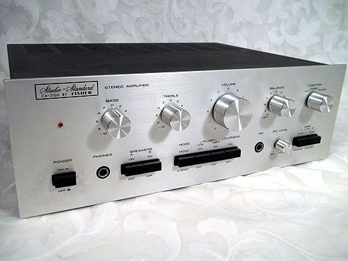 Sold vtg fisher studio standard stereo control amplifier for California 2100 amp