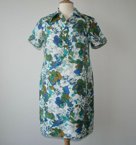 Vintage skjortekjole funnet i Paris