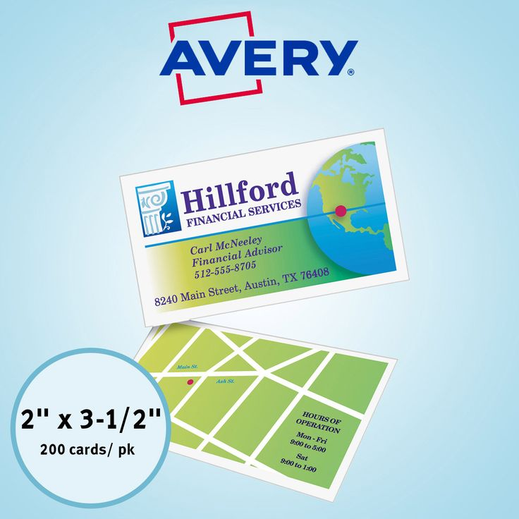 The 25+ best Avery business cards ideas on Pinterest   Business ...