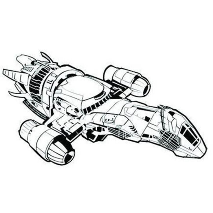 Firefly Serenity in Flight Sticker Transparent Bumper Sticker