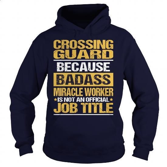 Awesome Tee For Crossing Guard - #boys #hooded sweater. I WANT THIS => https://www.sunfrog.com/LifeStyle/Awesome-Tee-For-Crossing-Guard-93836577-Navy-Blue-Hoodie.html?60505