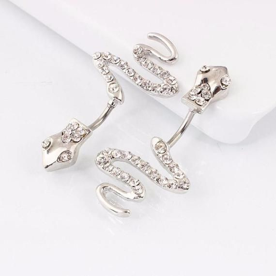 Belly Button Ring Ships USA