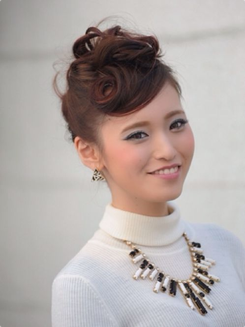 安室ちゃん風セクシーリーゼント♡ ダンスパフォーマンス用のヘアスタイル 髪型・アレンジ・カットの参考に☆