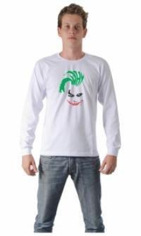 Camiseta Coringa, para você que é fã de um dos vilões : ndependente da sua idade, você já deve ter ouvido falar de um dos maiores inimigos do super-herói Batman, o vilão Coringa – ou Joker, em inglês. E para os fãs desse personagem criado pela editora americana DC Comics, a Camisetas da Hora criou a Camiseta Coringa .    O psicótico criado por Jerry Robinson, Bill Finger e Bob Kane tem inspiração tanto na