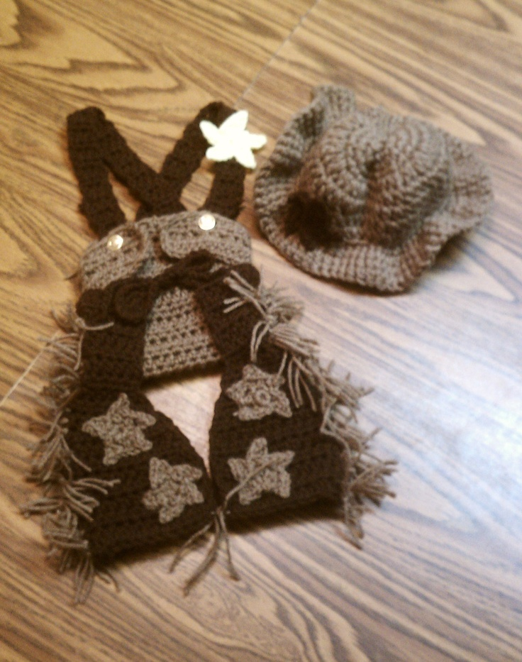 Crochet Baby Cowgirl Outfit Pattern Free : 17 Best images about Crochet passion - little boy clothing ...