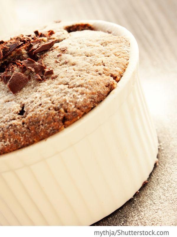 Schokoladenkekse mit flüssiger Füllung Schokoladnyje keksy s schidkoj naschinkoj - Шоколадные кексы с жидкой начинкой - Russische Rezepte