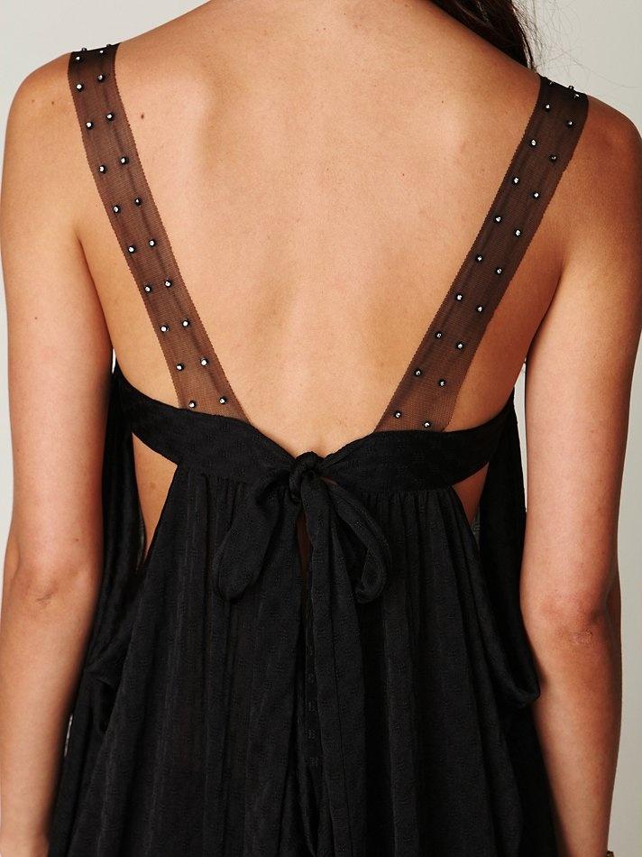 Detailed shoulder strap