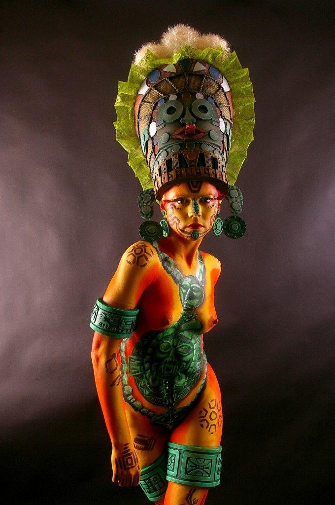 Aztec Priestess 002 by marshon on deviantART