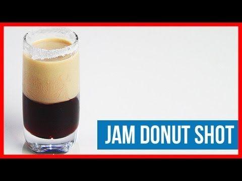 Jam Donut Shot Recipe by Drink Lab (Popular)