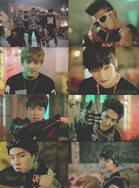 BTS / Bangtan Boys / Bulletproof / Bighit JIN  RAP MONSTER J-HOPE V SUGA JINMIN JUNGKOOK