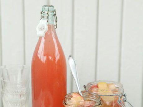 Äppelsaft med vanilj