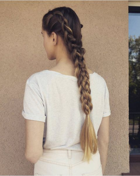 Hair Trends: How to Rock a Dutch Braid This Season - theFashionSpot