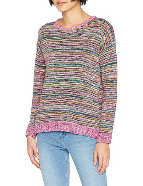ESPRIT Damen Pullover 038EE1I040, Mehrfarbig (Dark Green 2 301), X-Small -  Pullover pulli pullis polover pullunder pullis pu…   Pullover Trends Frauen  ... a520ae78c0