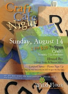 Craft cafe night!