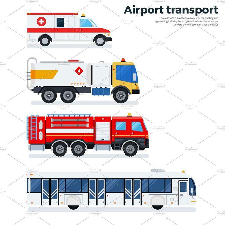 Airport transport - Illustrations - 1
