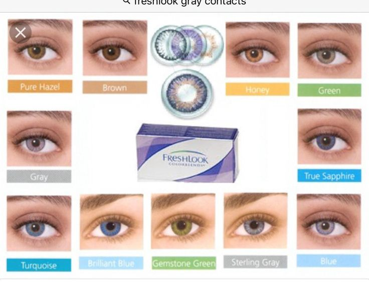 Non-prescription color contact lens. Reusable up to 3 months with proper care. 11 colors available. Fast and free shipping included