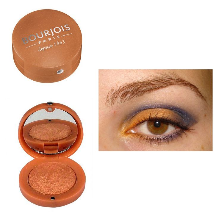 """Bourjois Eyeshadow 16 Orange Epice -http://www.transfashions.com/en/beauty-health/makeup/eyeshadow/bourjois/bourjois-eyeshadow-16-orange-epice.html Bourjois Eyeshadow 16 Orange Epice uses the revolutionary technology of """"baked #eyeshadow"""" resulting in an even softer formula that perfect fade for a radiant and subtle result, from..."""