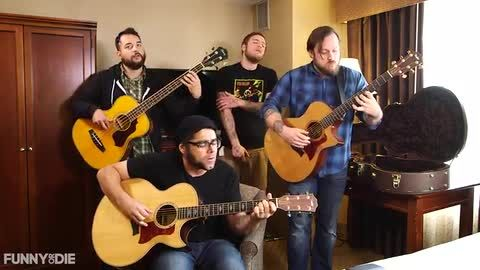 Coheed and Cambria Sing Justice Scalia's Dissenting Opinions