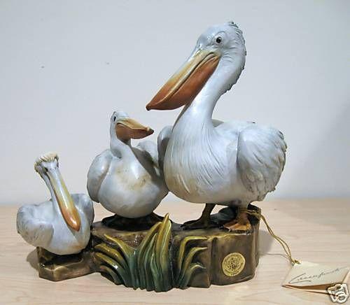 RARE Guido Cacciapuoti Pelicans Box & COA Limited Ed