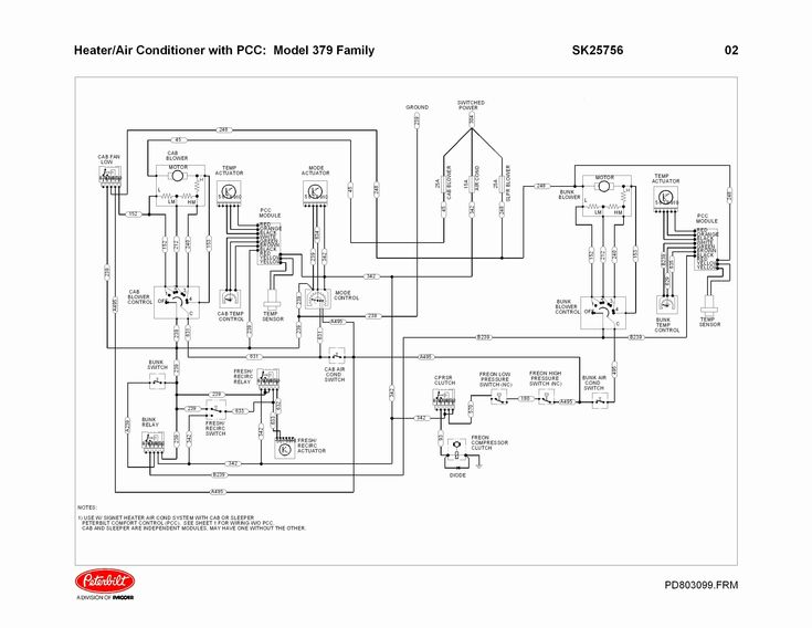 Inspirational Peterbilt 359 Wiring Diagram in 2020