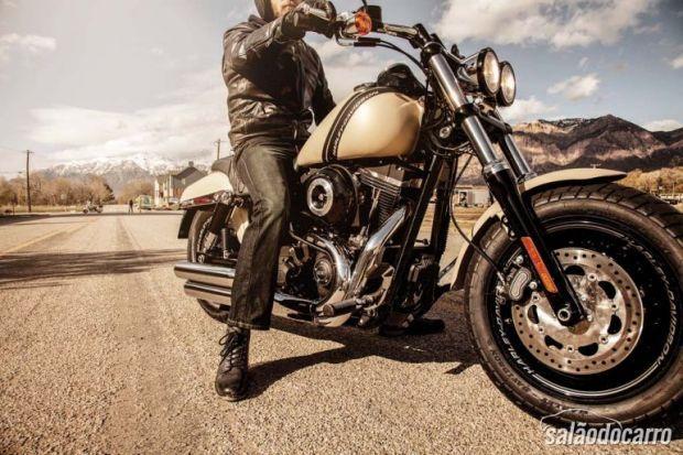 Harley-Davidson lançará Fat Bob no Brasil!  » www.salaodocarro.com.br/motos/harley-davidson-fat-bob-brasil.html