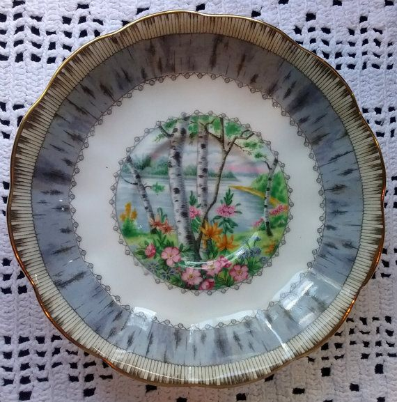 Royal Albert Silver Birch Replacement Saucer Royal Albert