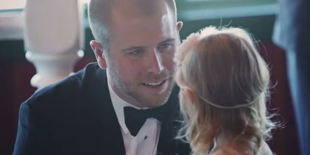 Groom Makes Wedding Vows To 3-Year-Old Stepdaughter In Emotional Video