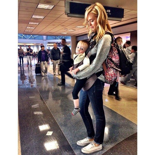 Goodbye LA--->Hello Dallas!✈ #airportstyle #twobackpacksandababycarrier #