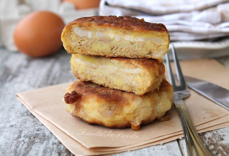 Hamburger di patate e tonno farciti al formaggio