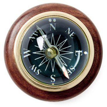 Check out this item at One Kings Lane! Table Magnetic Compass