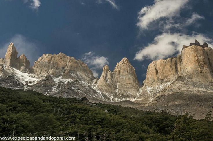 Valle del Francês em Torres del Paine no Chile