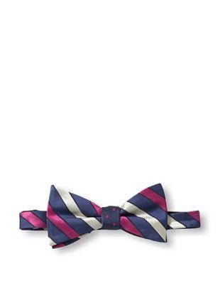 65% OFF Ben Sherman Men's Reversible Pre-Tie Thick Stripe & Dot Bow Tie, Berry