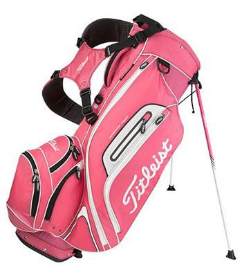 womens pink golf bag | Home Golf Bags Titleist Limited Edition Pink Lightweight Stand Bag